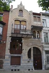 Kunstlaan 41, Gent (Erf-goed.be) Tags: architectenwoning achielvanhoecke kunstlaan gent archeonet geotagged geo:lon=3724 geo:lat=510402 oostvlaanderen
