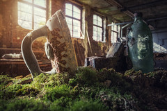 iron (blende einspunktacht) Tags: urban green abandoned canon iron factory hdr urbex lostplaces verlasseneorte