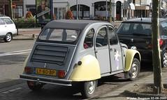 Citron 2CV 1985 (XBXG) Tags: auto old france holland classic haarlem netherlands car vintage french automobile nederland citron voiture 2cv frankrijk 1985 paysbas eend geit ancienne 2pk 2cv6 citron2cv franaise deuche deudeuche ly80bp
