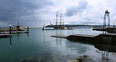 ISLE OF WIGHT VIEWS. (ronsaunders47) Tags: clouds harbour isleofwight seafront cowes pontoon earlofpembroke