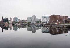mirrored Liverpool (barfi*) Tags: liverpool albertdocks