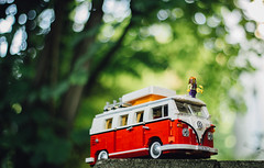 The Bus & the Hippie (freyavev) Tags: bus vw germany garden volkswagen toy deutschland 50mm lego bokeh vehicle hippie t1 vwbus bulli badenwrttemberg korntal vsco 1962bulli