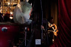 DSCF0863 Western musician in the Chinese opera (Scofield Chan) Tags: street art hongkong opera folk snapshot culture fujifilm streetphoto drama fujinon chineseopera chineseculture streetsnap xt1 fujinon35mm fujinon55200mm