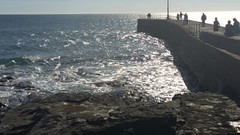 Porthleven pier (andy.j1) Tags: sea pier cornwall porthleven