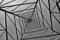 Power (Jeremy Brooks) Tags: blackandwhite bw italy milan tower blackwhite milano it electricity lombardia lombardy camera:make=fujifilm silverefexpro camera:model=xpro1