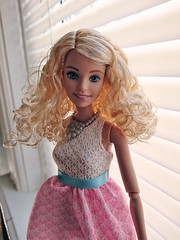 Love Time Now Please (WhatIfChris) Tags: 14 barbie curls blond hybrid fashionista fashiondoll mattel rebody