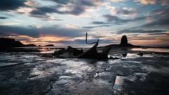 Von_Bloody_Freezing (jasontheaker) Tags: sunset summer shipwreck whitby saltwickbay blacknab admiralvontrapp