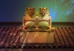 Siamese Egyptians (jimsawthat) Tags: weird utah fantasy ogden enhanced