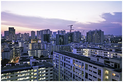 Toa Payoh skyline (300616) (n._y_c) Tags: longexposure blue twilight fuji x bluehour hdb publichousing toapayoh xseries fujifim xt1 xf1855