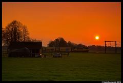 NSR 1740, Rijssen 14-04-2016 (Henk Zwoferink) Tags: sunset train zonsondergang ns gemeente alstom 1740 henk 1700 spoorwegen holten nsr nederlandse ddar rijssen zwoferink