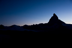 The Matterhorn at Twilight (Foto Blitz Color) Tags: switzerland europe alps gornergrat matterhorn twilight evening silhouette nikon d200