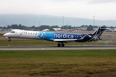 Nordica ES-ACC, OSL ENGM Gardermoen (Inger Bjrndal Foss) Tags: esacc nordica canadair regional jet osl engm norway gardermoen