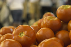 ouch (backonthebus) Tags: red tomato dof tomatoes coop hungry shallow dropbox buttery smoth