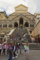 Amalfi Duomo (colinemcbride) Tags: sea italy coast paradise italia campania peninsula amalfi mediterranian sorrentine