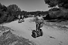 SEGWAY Fahrer ... (Uwe Wieteck) Tags: segway sa mallorca coma