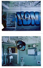 (.tom troutman.) Tags: polaroid land 250 abandoned fuji fp 100c hospital ny pullandpeel instant film