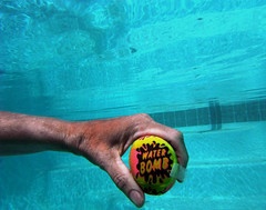 128/365: Water Bomb 2013-05-08 (George (Patti) Larcher (333K Views - Thank you!)) Tags: selfportrait pool beauty feast for all hand with shot you or year captured el best your leap mundo por ii house dabba  photos day art pictures best friends a flickr shot give colors colors a photography returners images eyes catchy photos group project today 365 want 365 less experience pic perfect doo click 2012 distinguished everyone 365around 3662012 click 3662012 yabba montera