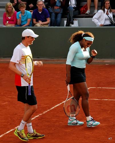 Bob Bryan & Serena Williams