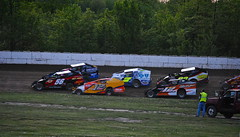 The Start, turn 4 (Joe Grabianowski) Tags: street ny cars stock racing dirt modified oval ransomville dirtcar