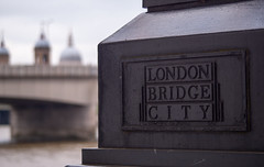 London Bridge (wooly74) Tags: london sign thames londonbridge sony lamppost stpaulscathedral