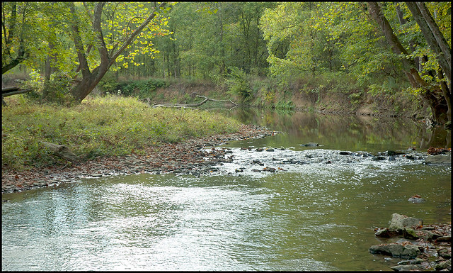Cedar Bluffs Nature Preserve - Clear Creek - October 2007