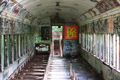 Lambertville Abandoned Train (Jeff Herbst) Tags: abandoned train lambertville