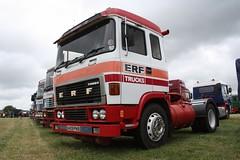 ERF Trucks (fannyfadams) Tags: b bernard c rally chinese steam oil erf six corbett turners ec anglesey foden bethania kelsall 2013
