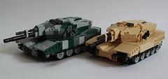 Atlanta MBTs (✠Andreas) Tags: tank lego legotank legomilitary legotanks legombt legombts atlantambt