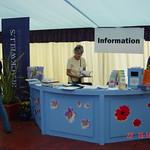 Information Desk at the 2002 Edinburgh International Book Festival