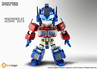 Kids Logic Transformers Optimus Prime 變型金剛 柯博文