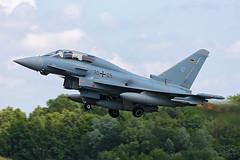 Eurofighter JG-73 Steinhoff (Spotterforlife) Tags: germany force air german eurofighter rostock 73 typhoon jg luftwaffe laage steinhoff jagdgeschwader etnl germanyair 73jg forceluftwaffejagdgeschwader 73steinhoffetnllaage