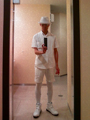 -0012 (picjmr80st54m7j99xv78bt07w3jo9ot) Tags: summer white stockings hat fashion shoes sneakers puma kneesocks newera newerahat