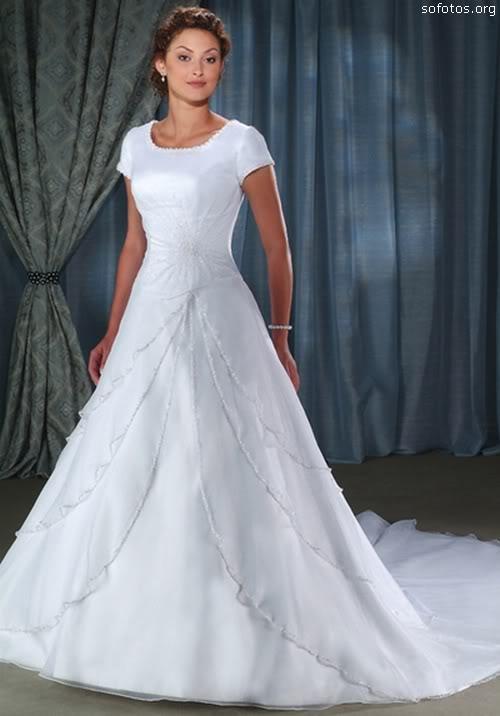 Vestido de noiva para evangelicas