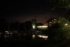 Vice Achim Marina (Alexander  Bulmahn) Tags: longexposure club night canon yacht 1855mm bootshaus achim eos550d
