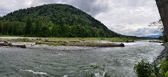 Vedder River Panorama (Pat's Pics36) Tags: canada river landscape britishcolumbia chilliwack vedderriver nikond7000 nikkor18to200mmvrlens