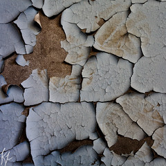 A mark made for life (Kjeldsted) Tags: blue brown abandoned wall ball pattern mark decay ukraine marks handball chernobyl pripyat chernobylcatastrophe handballhall chernobylexclusionzone