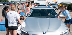 2013-08-24 X-C car wash-8 (HooverCC) Tags: august carwash xc 2013 pizzahutparkinglot