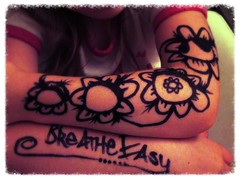 The Revolution of Breath (www.InspireCollective.com) Tags: art ink one aya child skin mark marker easy breathe inspire marking lookslikeatattoo