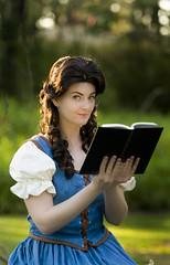 OUaT Belle (NinaStallmann) Tags: love beauty true reading time disneyland books disney fantasy belle beast once nina walt upon ouat stallmann rumbelle