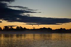 ... die Zwei ! (Sascha Gaber) Tags: leica boot herbst wolken baltic sascha sonnenaufgang schiff usedom gaber achter 2013