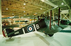 Sopwith Camel F1 F6314 Hendon 1992 (Richard.Crockett 64) Tags: london fighter scout camel worldwarone 1992 ww1 raf sopwith biplane rfc hendon royalairforce thegreatwar 1f1 royalairforcemuseum royalflyingcorps f6314 historichangars