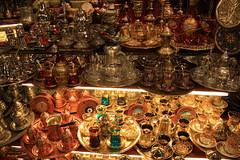 Turkish Tea Stall, Grand Bazaar (picadventures) Tags: shop turkey store tea stall istanbul bazaar turkish grandbazaar teaservice teastall
