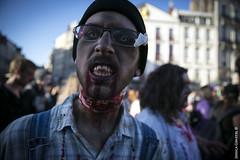 "299/365 : ""La Zombie Walk"" (Nutena) Tags: france zombie lille marche projet walkingdead zombiewalk 365days 365project 365jours uneanneenimages oneyearinimages"