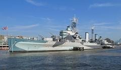 HMS Belfast In The Sunshine. (neilh156) Tags: london ship southbank hmsbelfast riverthames cruiser warship