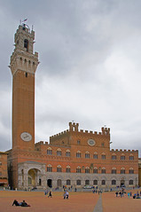 Siena Tuscany Italy. The Tower of Mangia and the Pubblico Palace at Piazza Del Compo (Rosie Girl1) Tags: street old city summer people italy tower heritage clouds italian europe italia cityscape may oldbuildings it historic unescoworldheritagesite unesco tuscany siena colourful piazza toscana oldbuilding touristattraction streetscenes historicplace historiccity citta piazzadelcampo the toscano historicbuildings historicbuilding beautifulbuilding colourfulbuildings peoplerelaxing medievalcity 2013 historictower beautifulbuildings a580 towerofmangia historiccentreofsiena provinceofsiena mustvisitplace piazzadelcompo rosiegirl rosiegirl1 beautifultower camposquare therosiegirl italiacitta beautifulpiazza piazzallcampo vision:sky=0976 vision:clouds=0684 vision:outdoor=0974 historictuscany historicpiazza finebuldings pubblicopalace italiancityscape italiantouristattaction