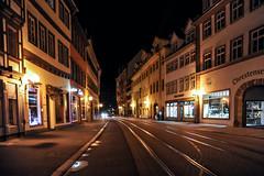 Erfurt (stephanrudolph) Tags: house building architecture night germany deutschland nikon europa europe erfurt handheld architektur d700 vision:outdoor=0563 vision:dark=0856 vision:sky=0621 vision:street=0983