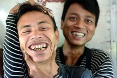 can't remember what we spoke (JonBauer) Tags: friends nikon loop yangon burma rail railway commuter myanmar rangoon d800 2470mmf28g circulartrain endofstrife