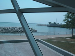 "View from Inside Milwaukee Art Museum • <a style=""font-size:0.8em;"" href=""http://www.flickr.com/photos/109120354@N07/11043096044/"" target=""_blank"">View on Flickr</a>"