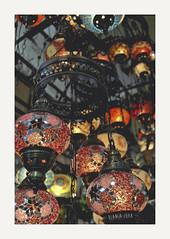 Istambul (Blanca Juan) Tags: color turkey mercado lampara istambul turquia bazar estambul cristales