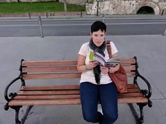 Op een bankje aan de Bosporus